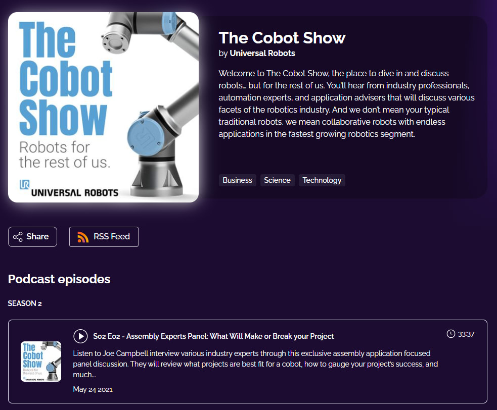 the cobot show