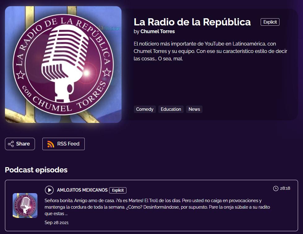 la radio de la republica