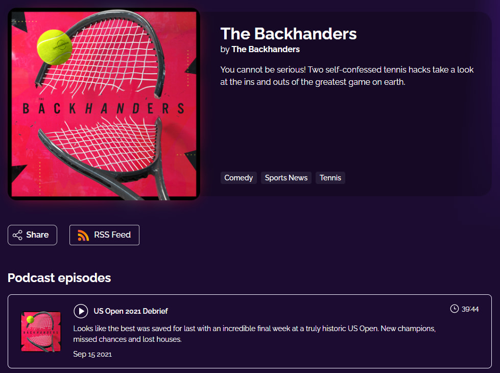 the backhanders podcast