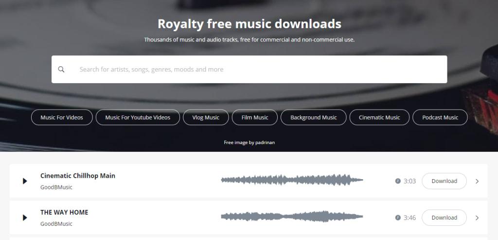 pixabay music