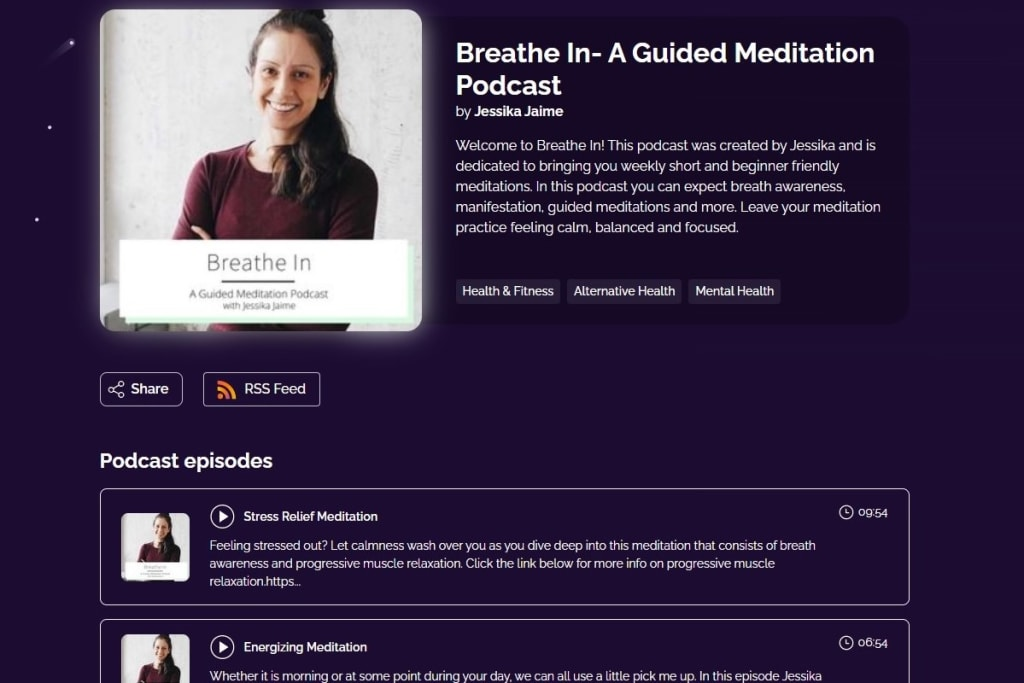Breathe In - A Guided Meditation Podcast