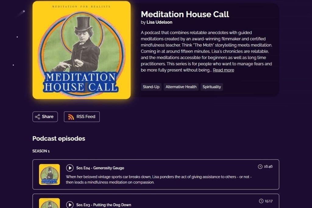 Meditation House Call Podcast