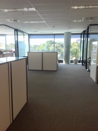 Open plan light-filled office