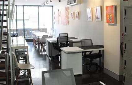 Coworking space for a team of 4
