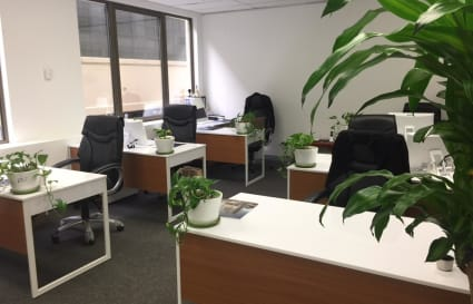 Desk space in Sydney City East
