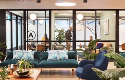 Sydney CBD internal private office