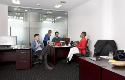 Modern Workspace for 3 people