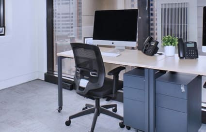 Private office space for 3