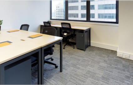5 Person city view private office