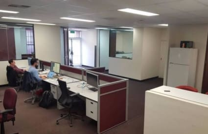 Laid back shared office space for 6