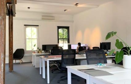 Desks in Architect's Studio Pyrmont