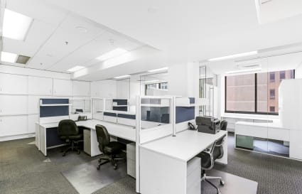 Private offices and coworking desks available