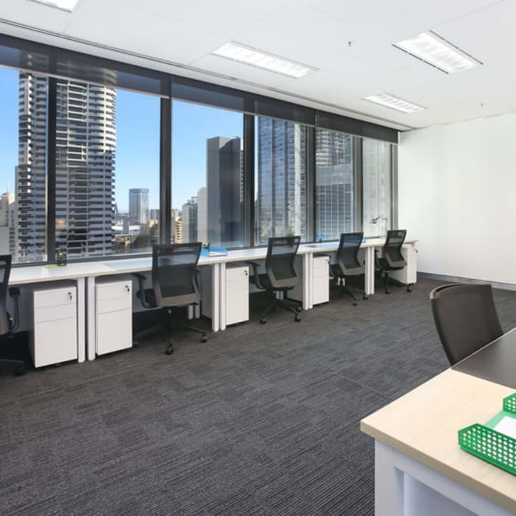 Fully managed and private turnkey office with 104 workstations