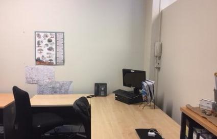 Desk space quiet office $100/week