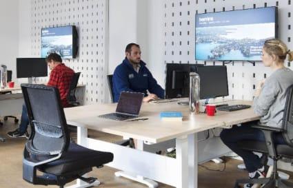 Professional permanent desks Manly