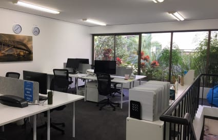 Open plan office & collab hub