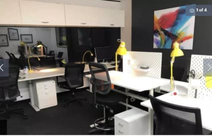Co-working desk in Randwick