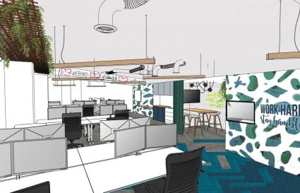 6 x Creative Coworking Space