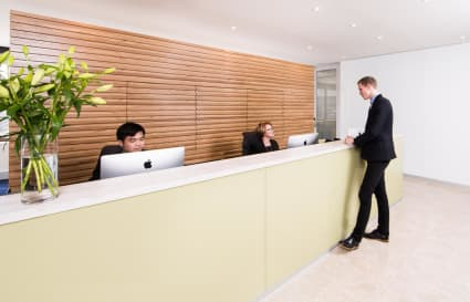 Internal 3 Person Private Office