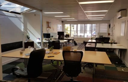 Office desk in the heart of Manly