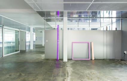 Work Stations in Open Plan Studio
