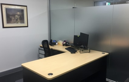 Two Adjacent Private Office Spaces