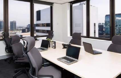 12 Person private office with external views of The Yarra
