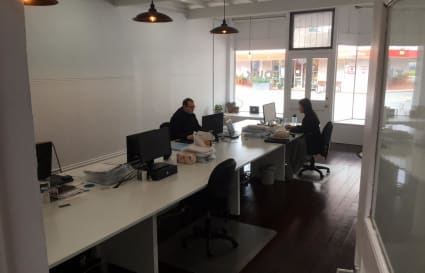 2 Desks available in shared space