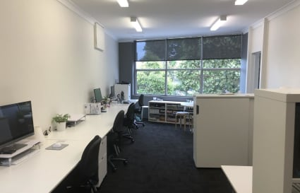 Office Desk Space up to 4 Available