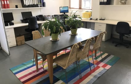Oxford St Loft office share