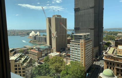 Pod of 4 premium desks with a view in Sydney CBD