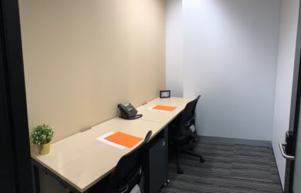 2 Person internal private office