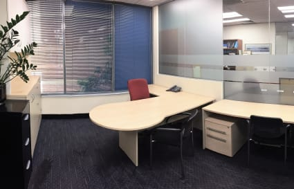 Premium lockable spacious office for 2 or 3 people depending on needs