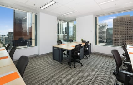 11 Person city view private office