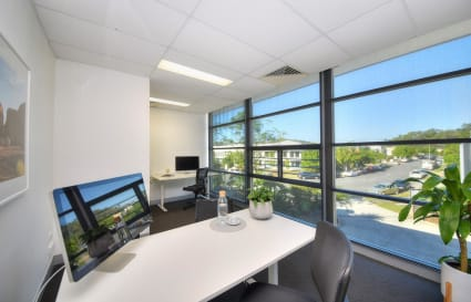 Large serviced office