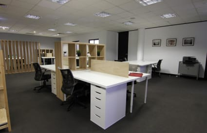 Dedicated desks, Carlton location