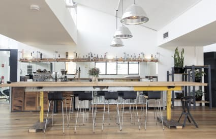Permanent co-working spaces