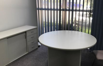 Office with window outlook