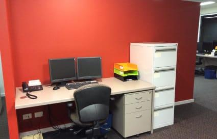 Internal Office plus Open Plan