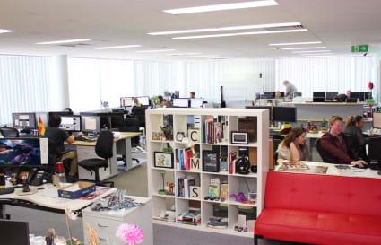 Desk in Vibrant Digital Agency