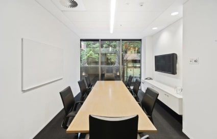 Meeting rooms on Bourke Street
