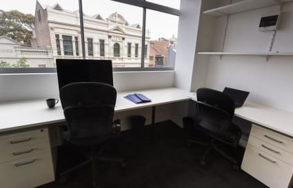 Two person furnished office Balmain