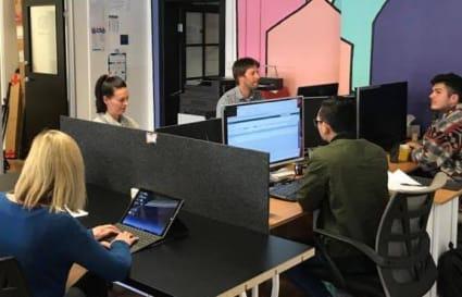 1-4 Permanent Desks in Prospect
