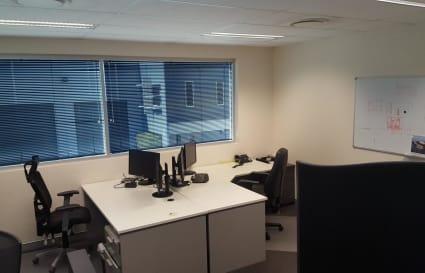 Private 3 person office