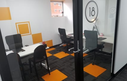 1 Person Office with Meeting Rooms