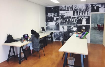 Desk in creative office - Freo area