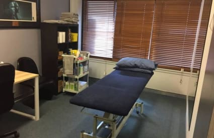 Room for health practitioner