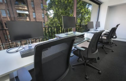 Private executive office space