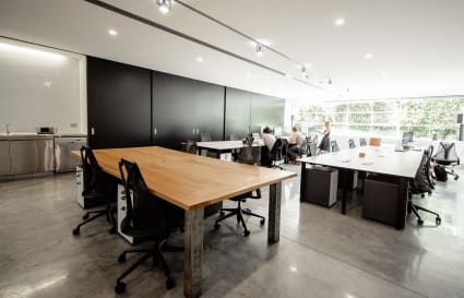 Shared office space in Darlinghurst