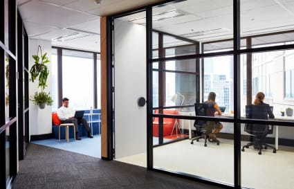 7 Person internal private office